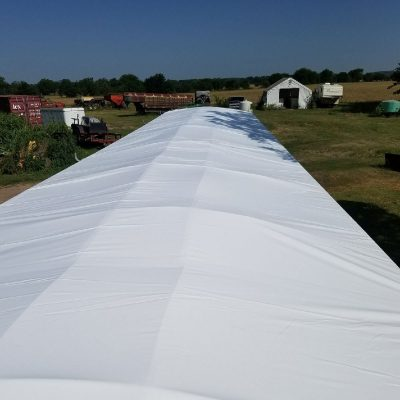 AGRICULTURE TARPS AND COVERS- Custom Tent and Tarps